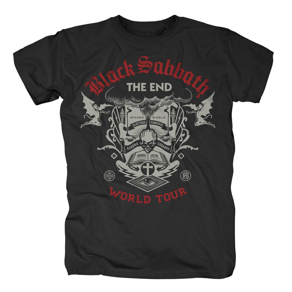 The End Scripture von Black Sabbath - T-Shirt jetzt im Black Sabbath Shop