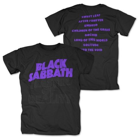 √Master Of Reality Tracklist von Black Sabbath - T-Shirt jetzt im Black Sabbath Shop