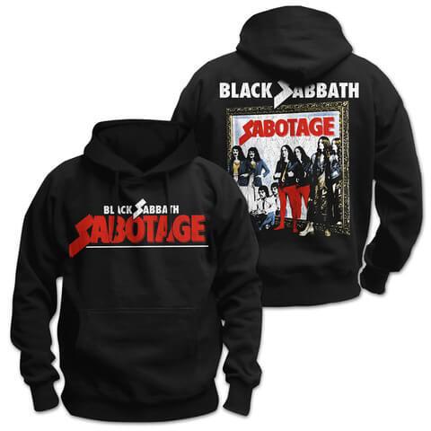 √Sabotage von Black Sabbath - Hood sweater jetzt im Black Sabbath Shop
