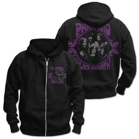 √Paranoid von Black Sabbath - Hooded jacket jetzt im Black Sabbath Shop
