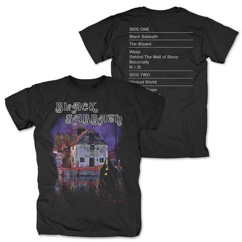 √Black Sabbath Tracklist von Black Sabbath - T-Shirt jetzt im Black Sabbath Shop