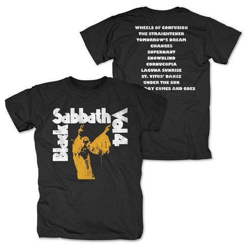 √Vol. 4 Tracklist von Black Sabbath - T-Shirt jetzt im Black Sabbath Shop