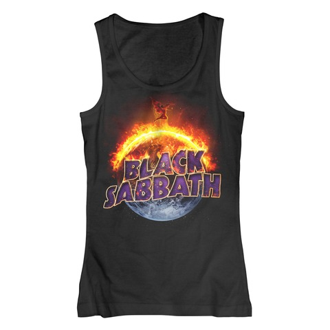 √The End von Black Sabbath - Girlie top jetzt im Black Sabbath Shop